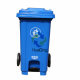 pattumiera di gomma di plastica della rotella dello scomparto di rifiuti 100L per HD2wnp120c-B esterno