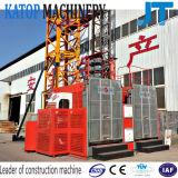 Do material popular da gaiola do dobro da carga do baixo preço grua de levantamento da construção Sc200/200 2t