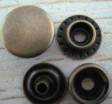 Кнопка джинсыов металла качества щелчковая