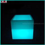 Crisol de flor impermeable del cubo del cubo de hielo del cubo del LED