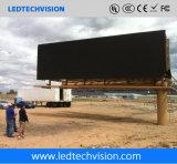 Mur visuel de P10mm DEL extérieur pour le support de montant publicitaire