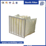 Pocket Synthetic Fiber Air Filter for Ventilation