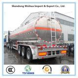 판매를 위한 세 배 차축 45m3 알루미늄 합금 연료 탱크 트레일러