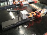 Машина CNC отверстия металлического листа пробивая с подавая платформой