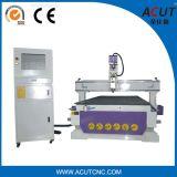 Máquina de gravura CNC de porta de madeira de gabinete 3D (ACUT-1325)