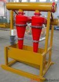Hidrociclón Desander, separación del fango de la mezcla de Desander del ciclón
