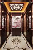 Лифт пассажира с китайским украшением ветра