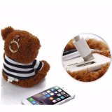 Custom Portable Cute Cartoon Teddy Bear Power Bank 10000mAh Capacidade Mobile Power Bank