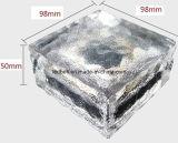 Solartiefbauziegelstein des pfad-Straßen-Eis-LED
