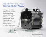 motor de 20kw BLDC para el coche eléctrico
