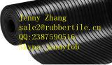 Промышленный точный Ribbed резиновый лист в крене (GS0501)