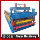 Azulejos de azotea del metal que hacen que la máquina rueda formando la máquina