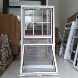 Doppeltes gehangenes Aluminiumfenster mit Gitter-Entwurf