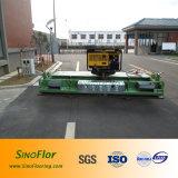 De Machine van de betonmolen (met vaste generator) voor Atletische Renbaan, Plastic Renbaan
