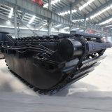 Máquina escavadora hidráulica original de KOMATSU da esteira rolante com pontão da estrutura (Jyp-358)