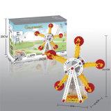 Stuk speelgoed van het Onderwijs van de Blokken van het Wiel van de Hemel van de gift het Elektrische