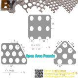 Perforierte Aluminiumblätter/dekorative Aluminiumpanels