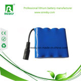 7500 pack batterie rechargeable 2s3p de 7800mAh 3.7V pour le moniteur médical