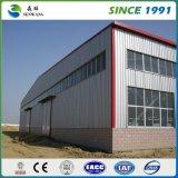 Construction préfabriquée de structure métallique pour le bureau d'atelier d'entrepôt