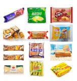 Precio automático de la máquina del paquete de la almohadilla de la empaquetadora de la galleta de la galleta