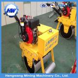 Dieselmotor-Doppelt-Trommel-Straßen-Rollen-Vibrationsschmutz-Verdichtungsgerät