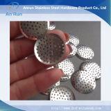 Filtros perfurados da folha da tela do metal do aço inoxidável
