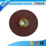 Roda de moedura bond reforçada 125*6*22 da resina para aços gerais e Castings