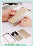 Caja de parachoques de aluminio de oro lujosa del teléfono con el espejo para el borde de la galaxia S7 de Samsung para el iPhone 6 más