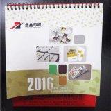 Personalizado de alta qualidade calendário de mesa / 2017 Yearbook