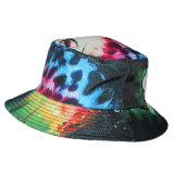 Custom Screen Printing Women Tie Dye Cotton Bucket Hat