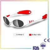 La vente chaude de modèle neuf badine des lunettes de soleil pour la FDA de la CE de passage