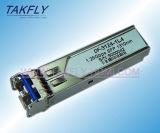 Cisco 1.25Gbps Compatible 20 kilometros 1310/1550 Individual transceptor óptico / SFP