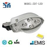 제조소 가격 도시와 마을 알루미늄 도로 램프 주거 LED 옥외 램프 점화 LED 가로등 Zd7 LED