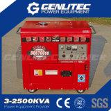 Luft abgekühlter leiser Typ 5kVA kleiner Dieselgenerator (DG6700SLE)