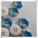Actory Wholesale 4 Holes Natural Wooden Button per Garment (IO-wb021)