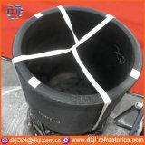 Cadinho industrial da grafita do carboneto de silicone da pureza elevada para derreter