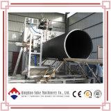 Línea de acero plástica de la máquina de la producción de la protuberancia del tubo del enrollamiento del PE