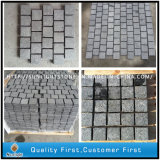 G684 Black Basalt Granite Cobble / Cube / Block Border / Curb / Pavé