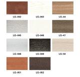Profil décoratif respectueux de l'environnement de porte matérielle de WPC stratifié par PVC (KT-18)
