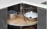 2017新しいデザインによってカスタマイズされる紫外線高い光沢のある食器棚(ZX-011)