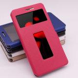 TPU 가득 차있는 방어에 최대 Zte Nubia Z11를 위한 PU 손가락으로 튀김 전화 상자
