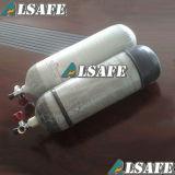300barアルミニウム合成カーボンファイバーのScbaの空気シリンダー