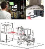 Le chariot élévateur partie des systèmes de sécurité de radio d'appareil-photo de Moitor