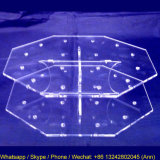 八角形のアクリルのロリポップのケーキの破裂音の陳列台