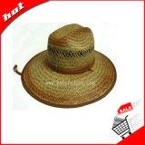 O chapéu de palha do chapéu de palha do Cattail protege o chapéu de palha da cavidade do chapéu de Sun