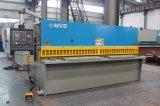 Máquina de corte hidráulica da fábrica QC12y-10X6000 de Mvd do motor de Siemens