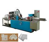 1/4 máquina plegable automática llena de la fabricación de papel de tejido de la servilleta de la impresión en color