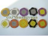 15g de Spaander van de Sticker van Propoker van de 3colorKlei (sy-F10)