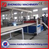 Ligne ligne ondulée de machine de feuille de PVC d'extrusion de toiture de PVC