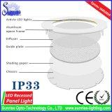 3W LEDのパネルのあたりで引込む暖かくか涼しく白い表面